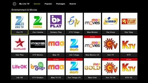 Get Yupptv Livetv Catch Up Movies Microsoft Store