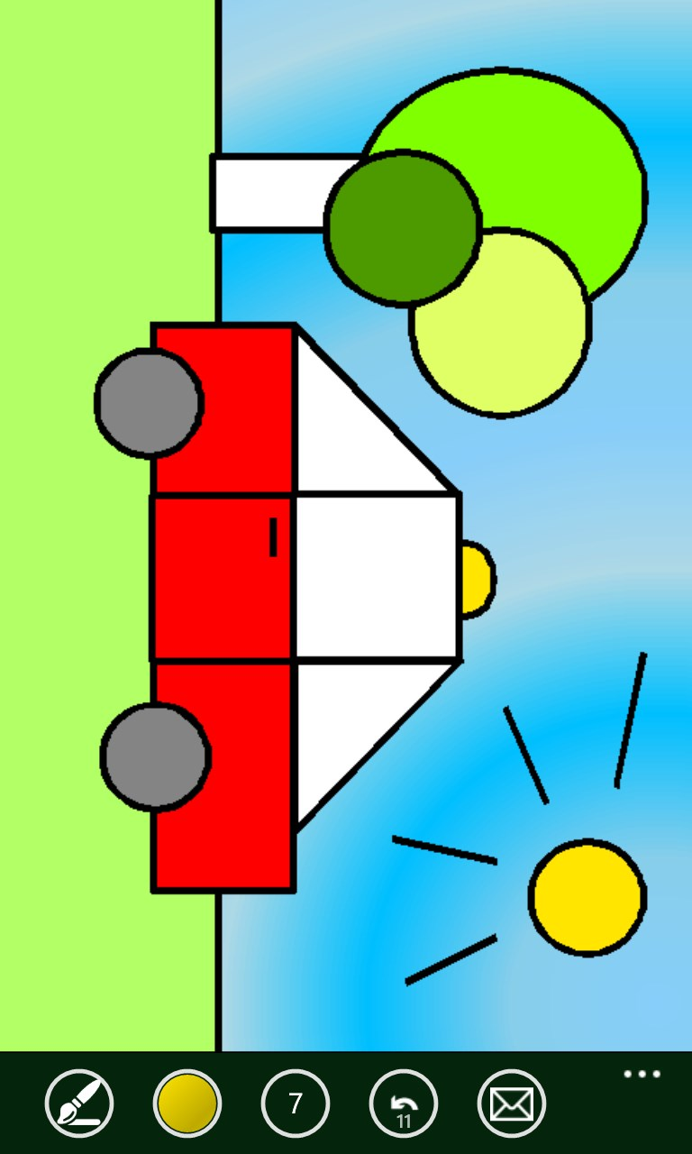 Shapes coloring book free windows phone app market Coloring book for windows 7