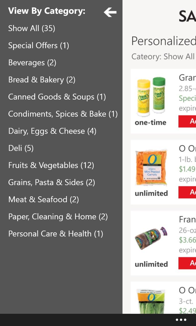 Safeway coupon codes