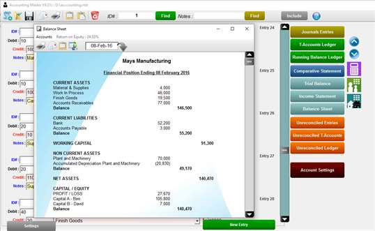 Accounting Master Pro screenshot 5