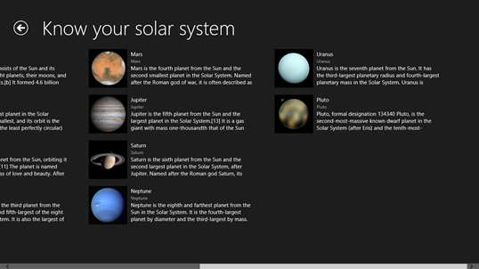 Know your solar system for Windows 10 free download ...