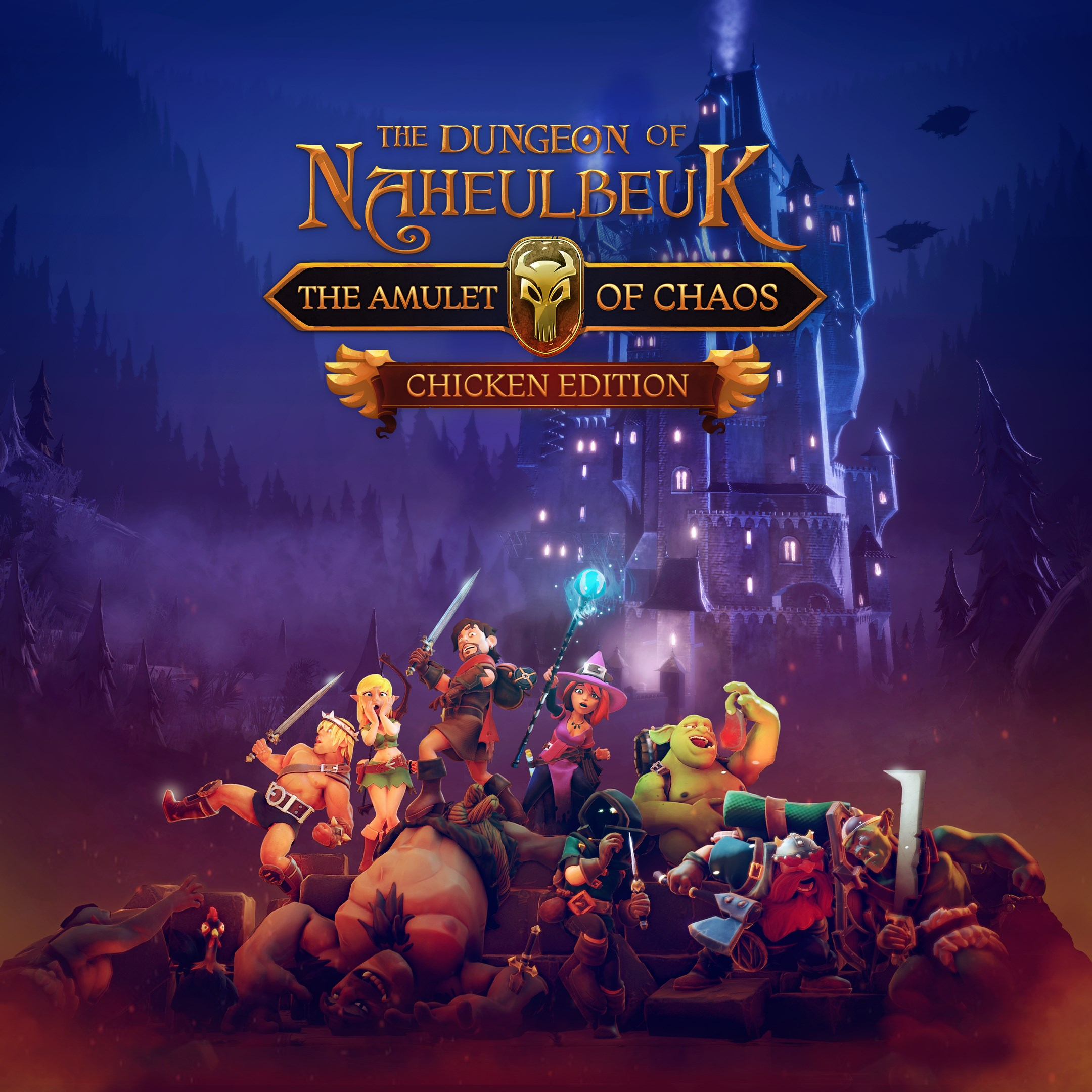 Image for The Dungeon Of Naheulbeuk: The Amulet Of Chaos - Chicken Edition