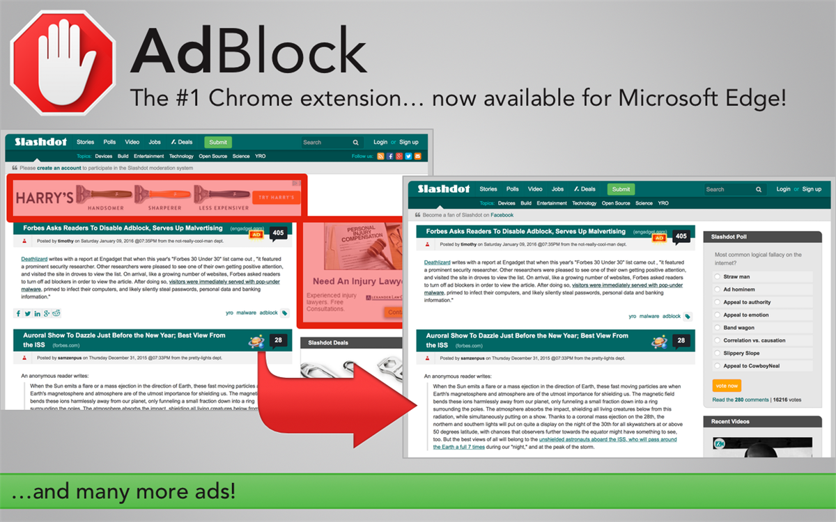 Adblock plus for chrome not working / Boots in macys