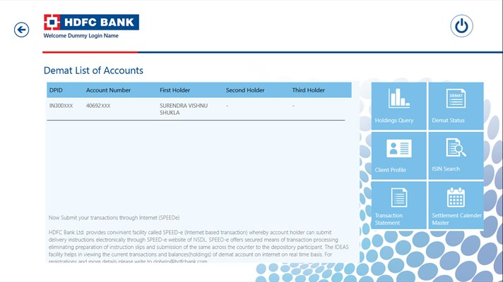 how to change user id in hdfc netbanking