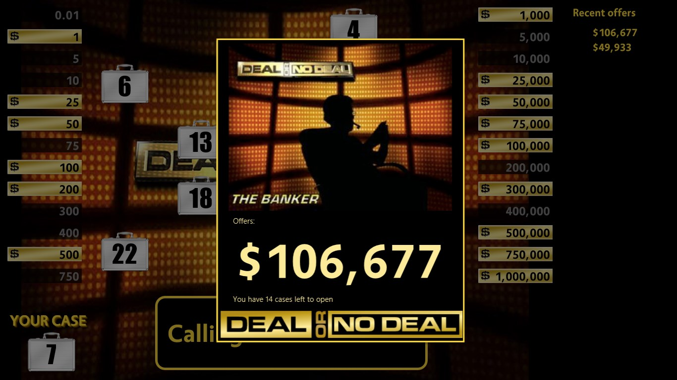 Deal Or No Deal+