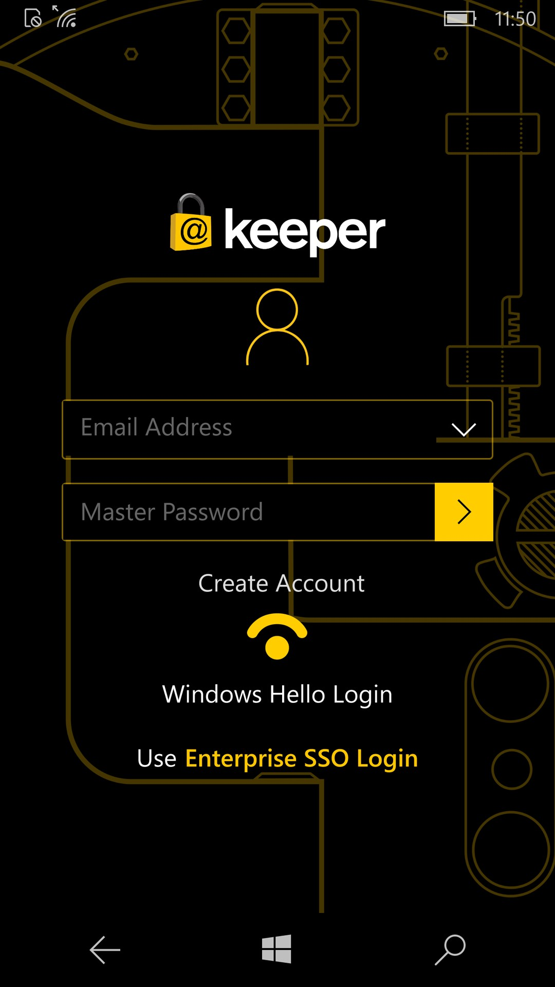 free password manager windows phone