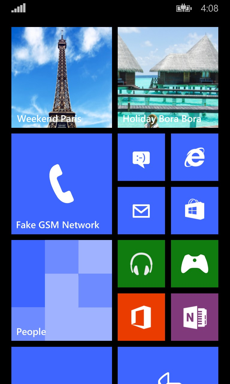 Holiday And Vacation Countdown Widget For Windows 10 Mobile