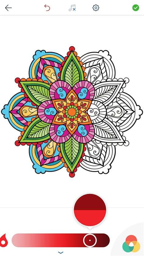 Mandala coloring pages adult coloring book for windows Coloring book for adults app