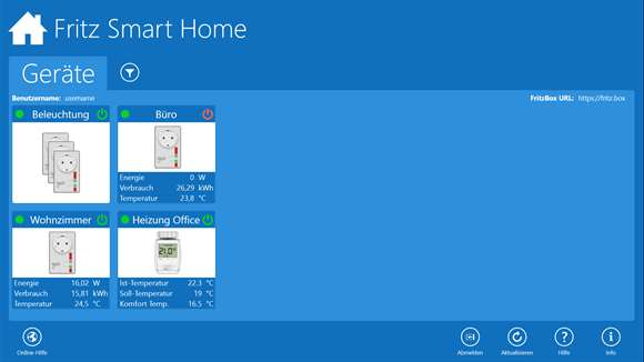 fritz smart home windows apps im microsoft store. Black Bedroom Furniture Sets. Home Design Ideas