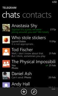 Migram BETA Screenshot