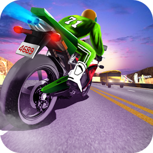 Crazy Moto Racing