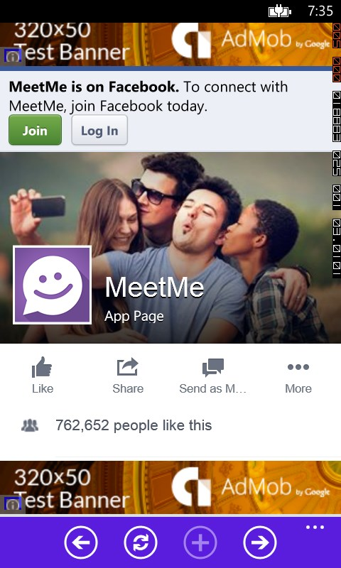 meetme app for windows phone