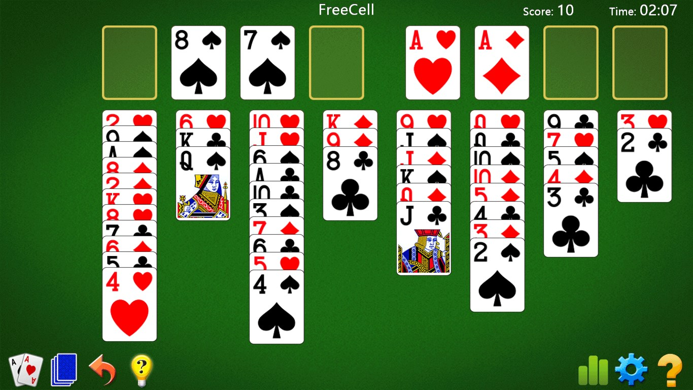 FreeCell Solitaire * for Windows 10