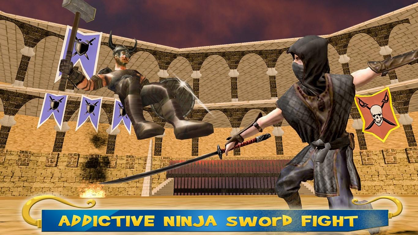 Ninja Warrior Sword Fight