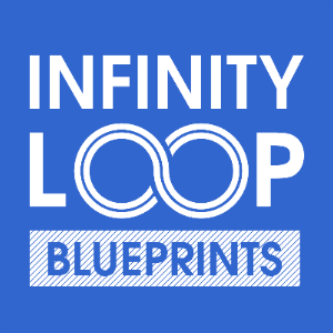 Infinity loop blueprints free iphone ipad app market app icon infinity loop blueprints malvernweather Image collections