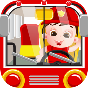 Baby Fire Truck Engine Role Playing Game For Kids
