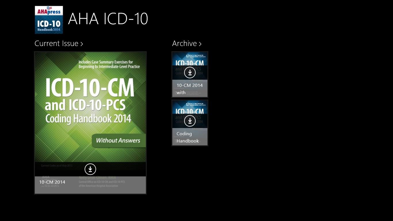 AHA ICD-10   FREE Windows Phone app market