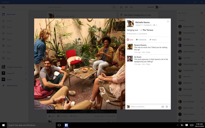 Facebook (Beta)