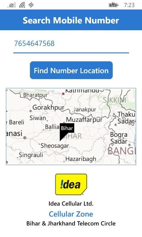 mobile caller location tracker free windows phone app market. Black Bedroom Furniture Sets. Home Design Ideas