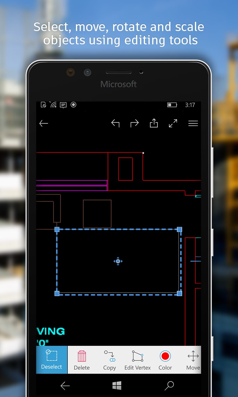 Autocad mobile dwg viewer editor cad drawing tools Online cad editor