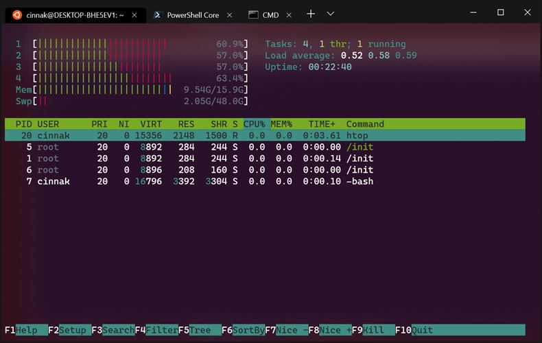 Windows Terminal (Preview) Screenshot