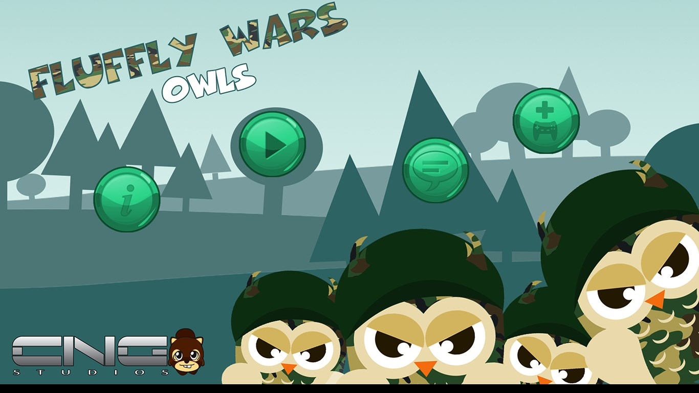 Fluffy Wars Owls