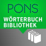 PONS Wörterbuch Bibliothek