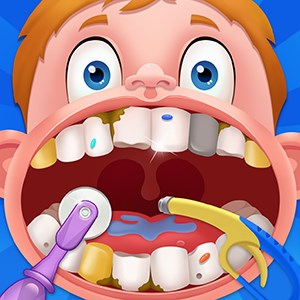 Little Cute Dentist - Doctor Clinic Games