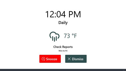 how to set a alarm clock on windows 10