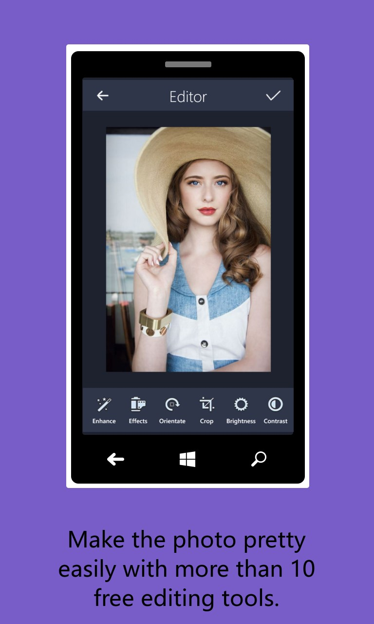 GooTile Photo Editor HD For Windows 10 Mobile