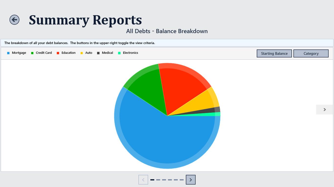 Debt Tracker For Windows 10
