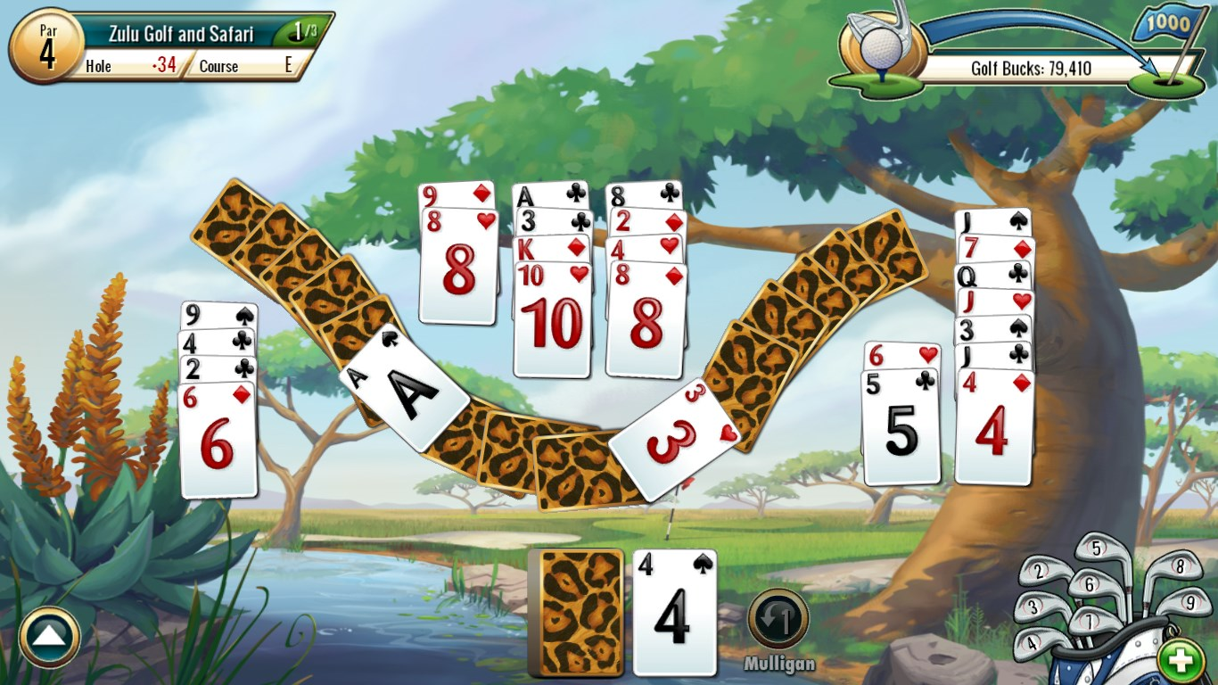 Fairway solitaire by big fish full for windows 10 free for Big fish solitaire games