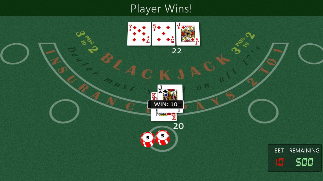 Blackjack should you split 10s