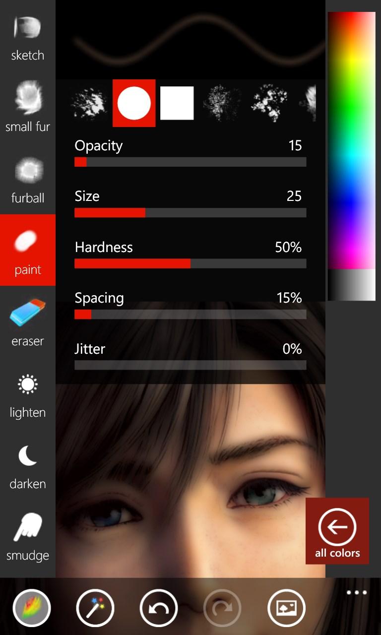 Fantasia Painter For Windows 10 Mobile