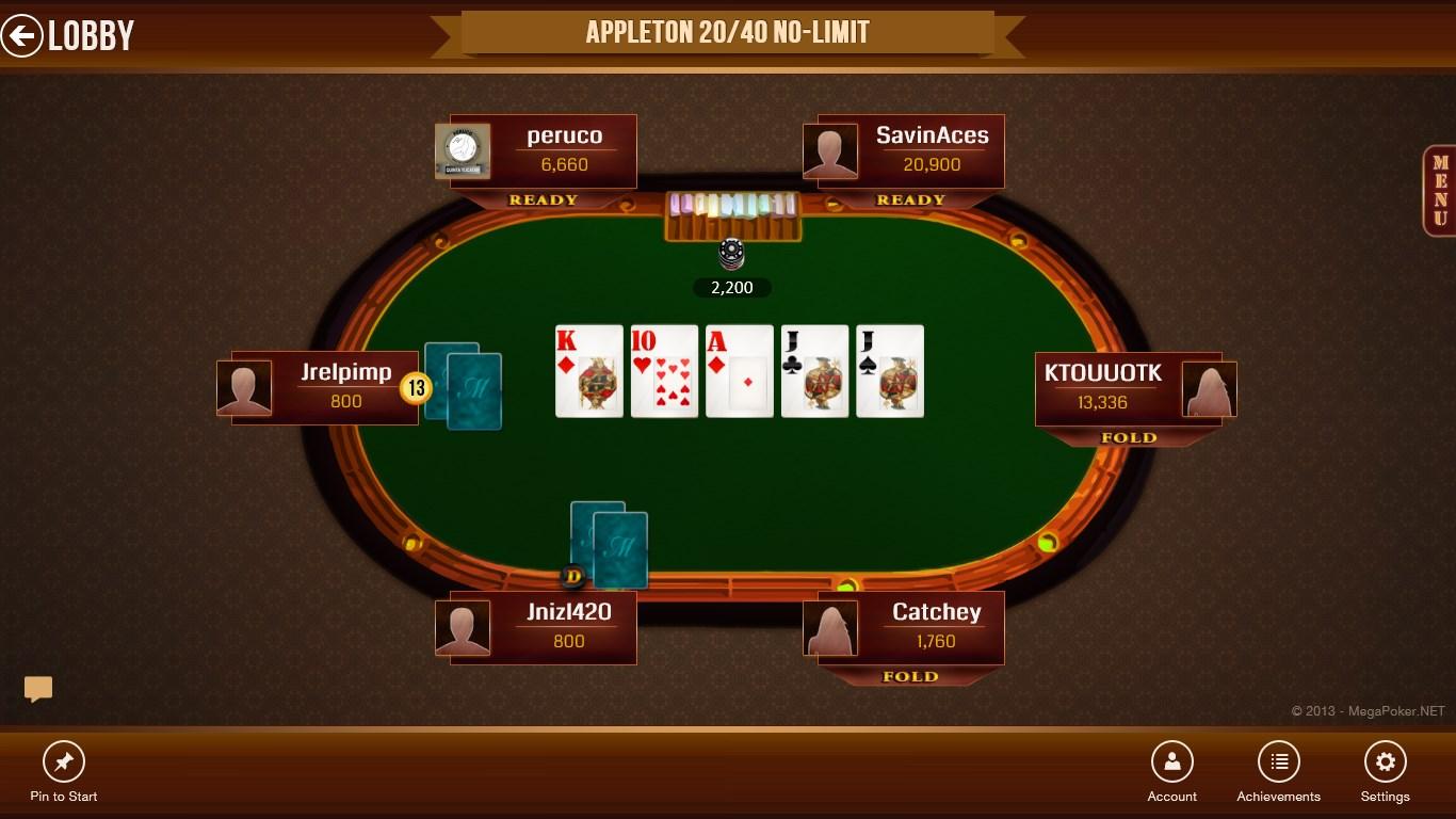 Mega poker texas holdem android