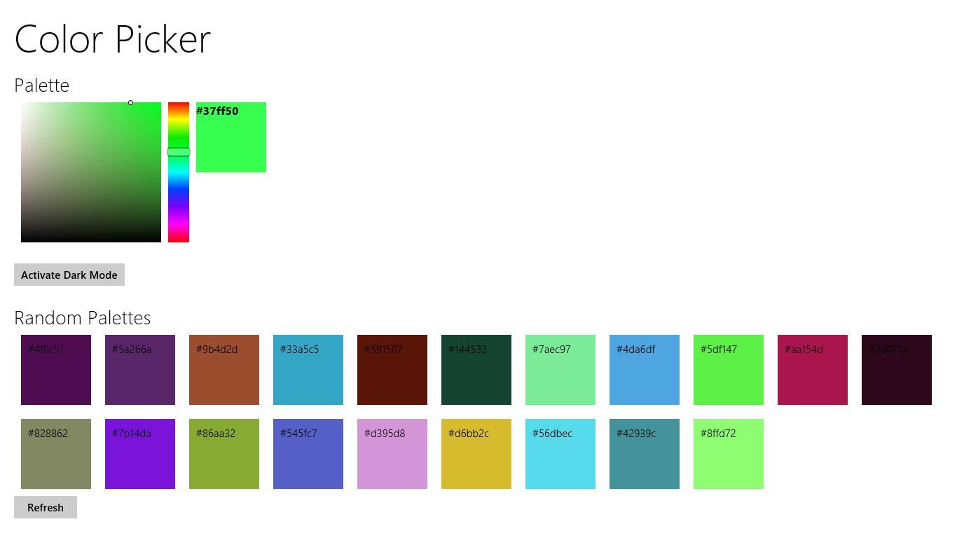 Color Picker For Windows 10