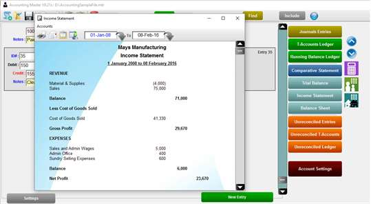 Accounting Master Pro screenshot 4