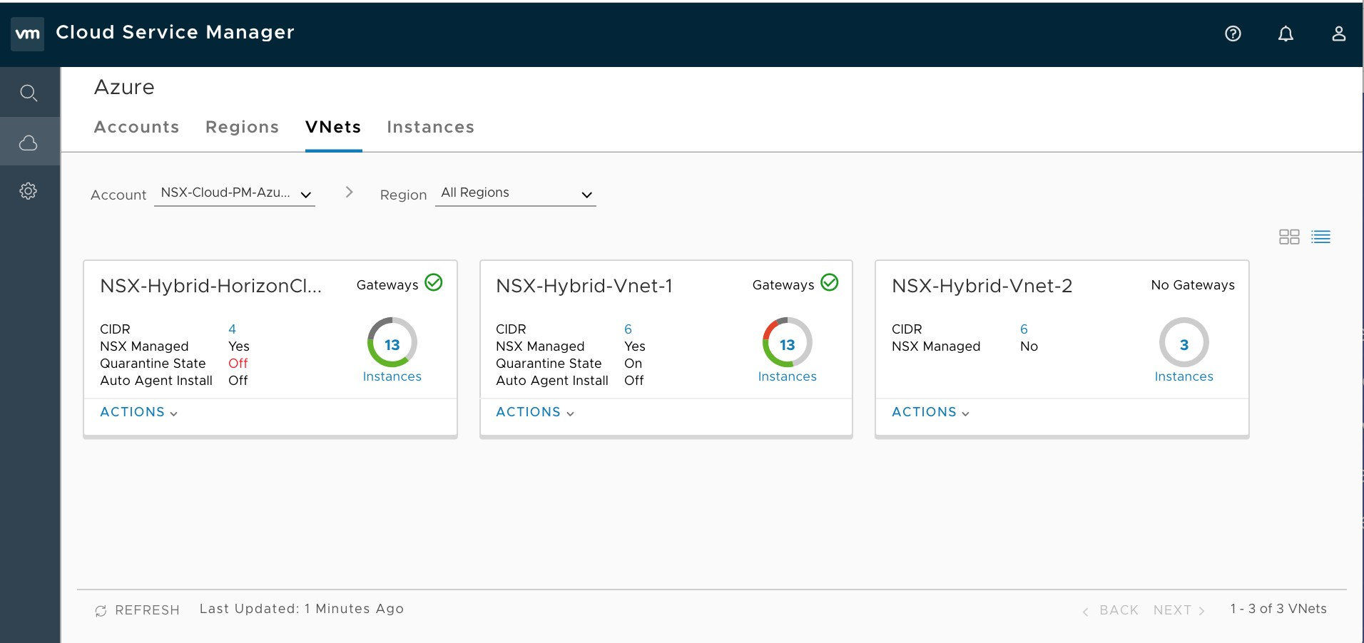 VMware NSX Cloud