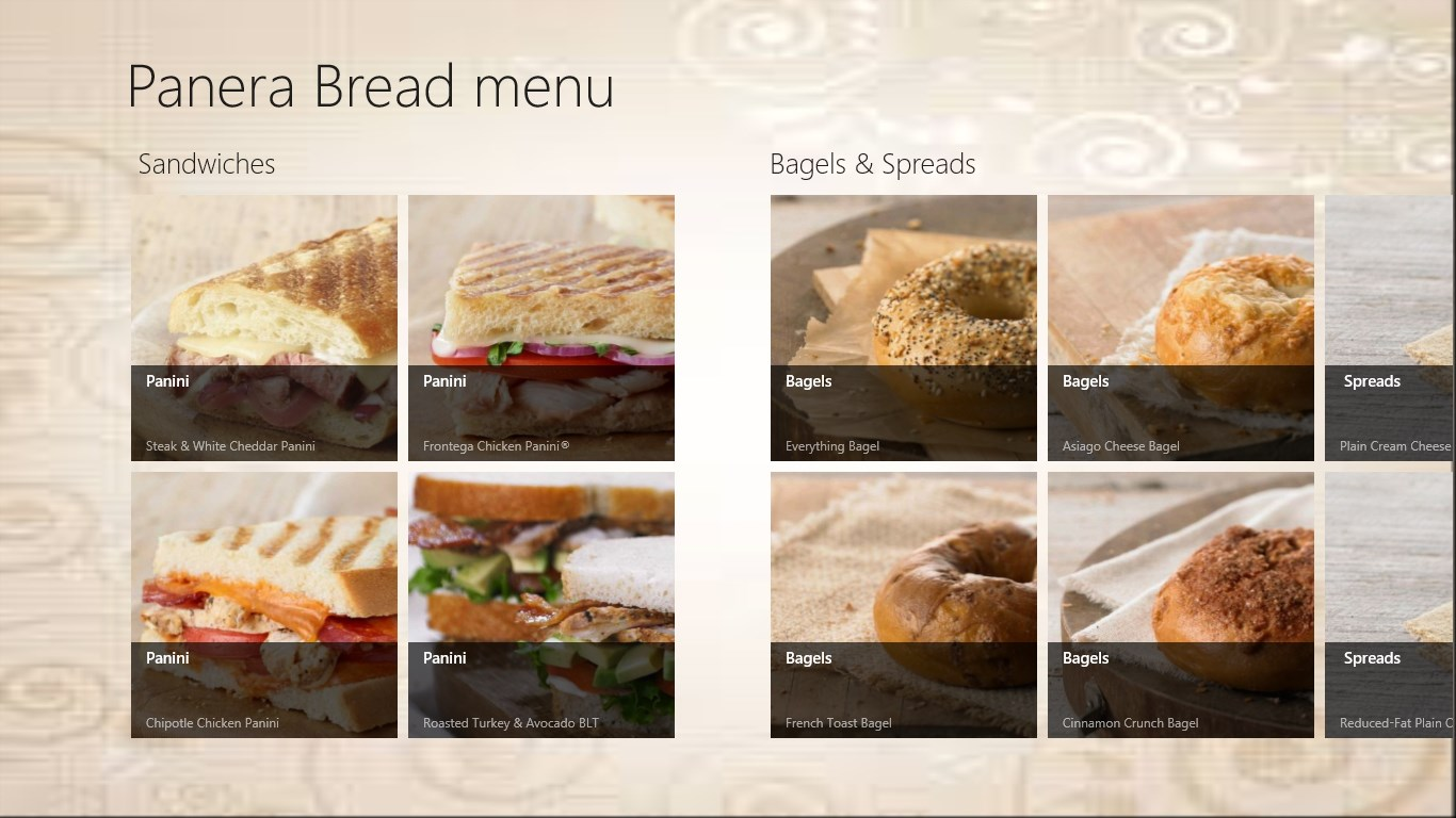 The Daily Bread Cafe Menu