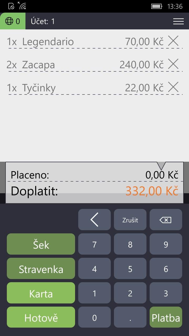 Profi Uctenka Free Windows Phone App Market
