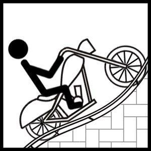 Stickman Motocross - Hill Climb
