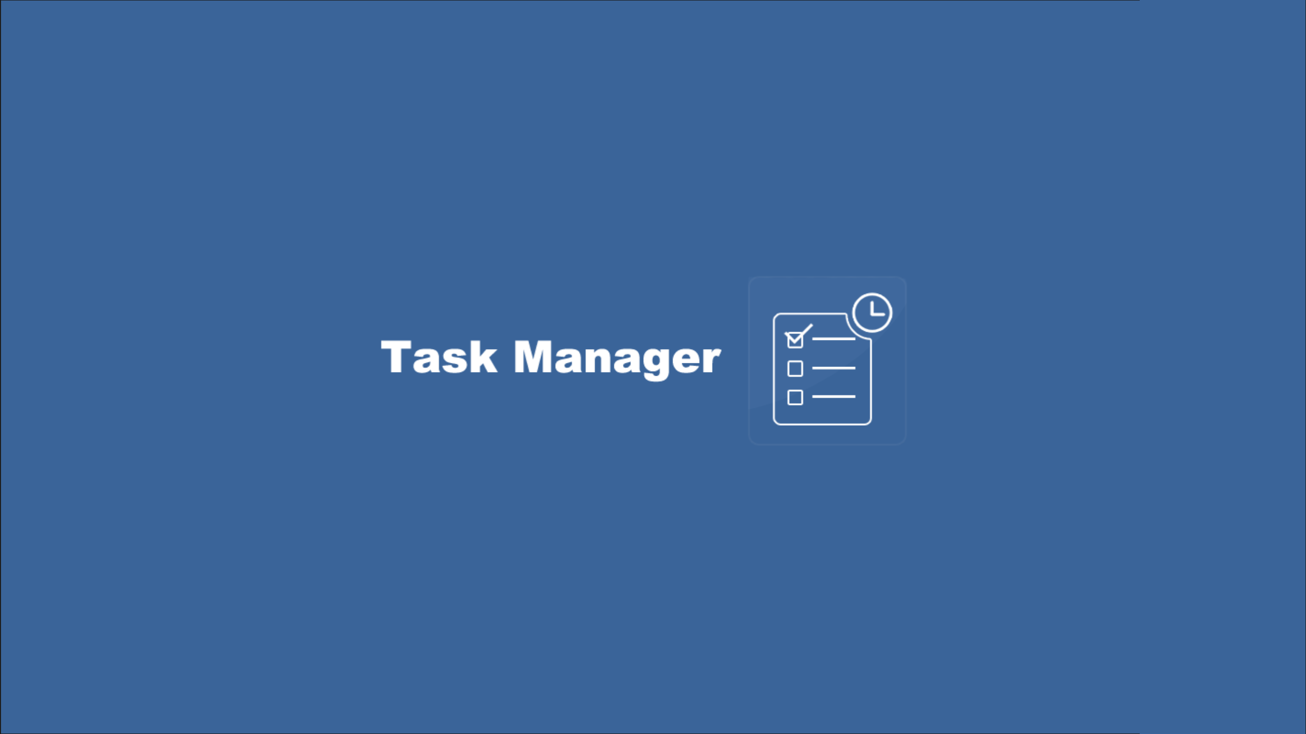 Task Manager Free