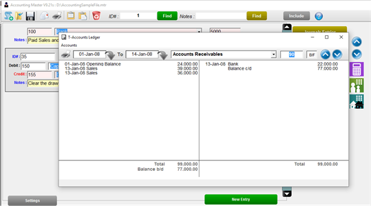 Accounting Master Pro screenshot 2