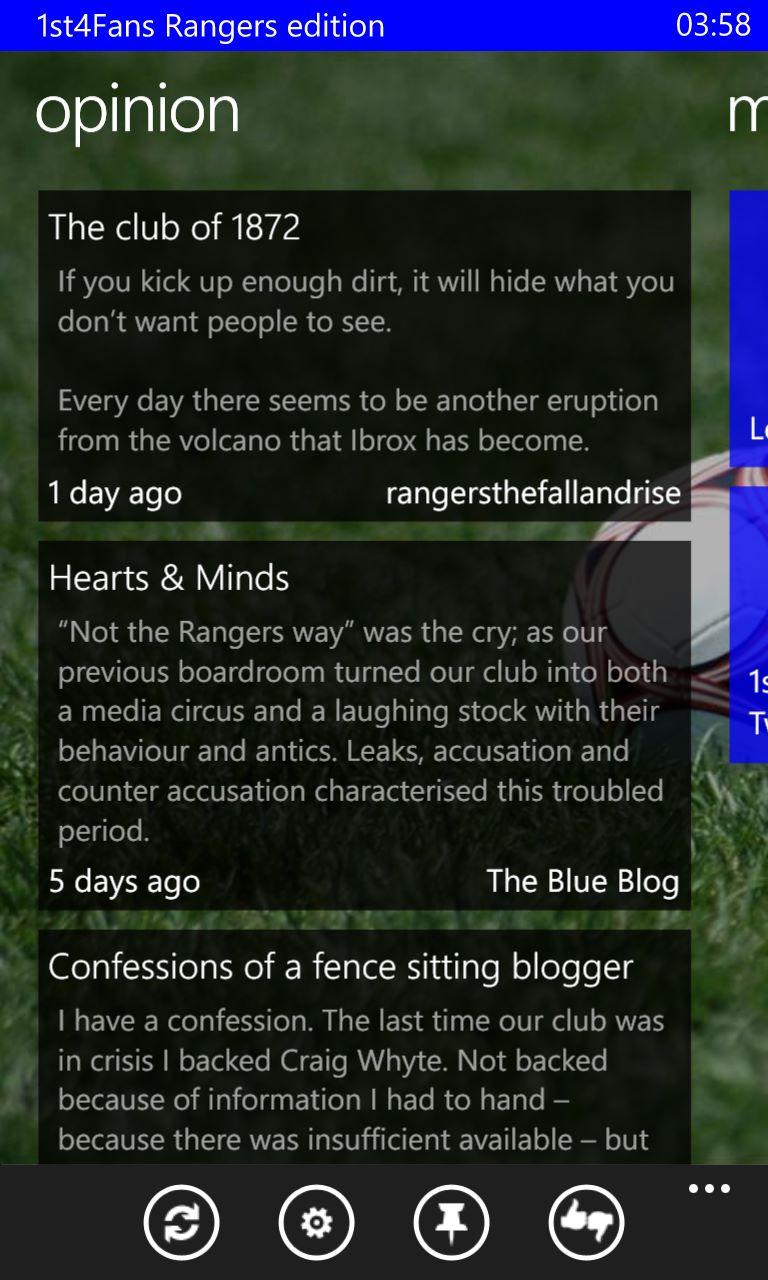 1st4Fans Rangers edition