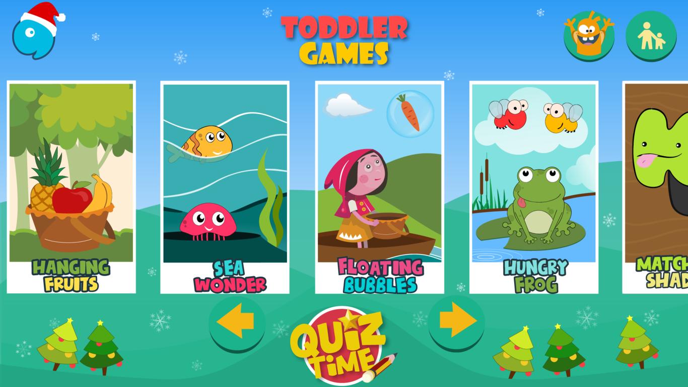Kids Toddler Learning Games
