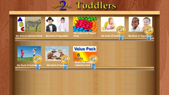 Read 2 Me Toddlers screenshot 3