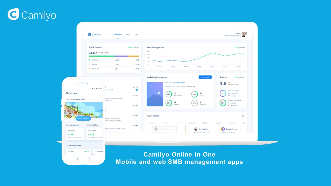 Local Sales Apps >> Camilyo Online In One