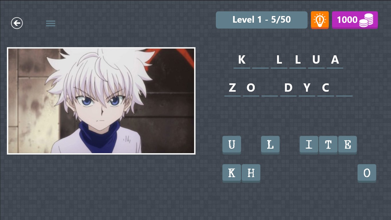 Anime Characters Quiz Answers : Ultimate anime quiz for windows