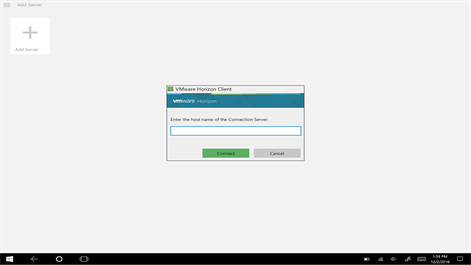 VMware Horizon Client Screenshot