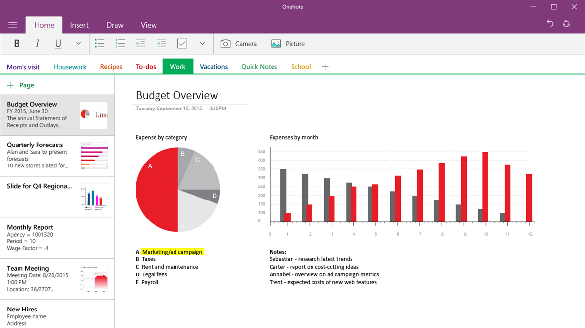 Onenote App For Windows 10 Gets Full Screen Drawing Mode